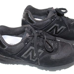 New Balance Sneakers 574 Size 9 Solid Black VGC